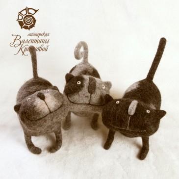 коты Криспи, Макси и Люсьен