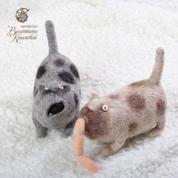 коты Шмот и Жмот