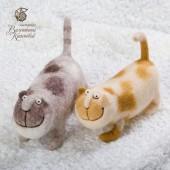 коты Рогалик и Булочка
